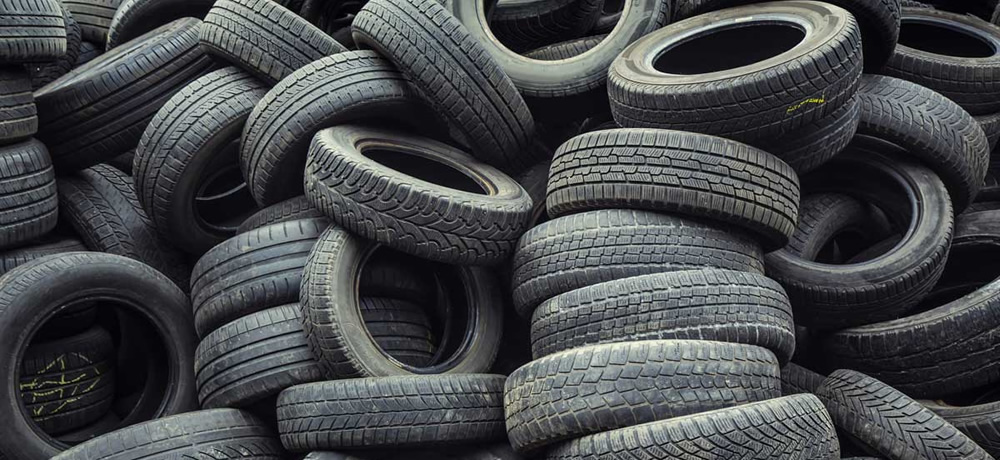 Waste tires present disposal and recycling challenges and opportunities