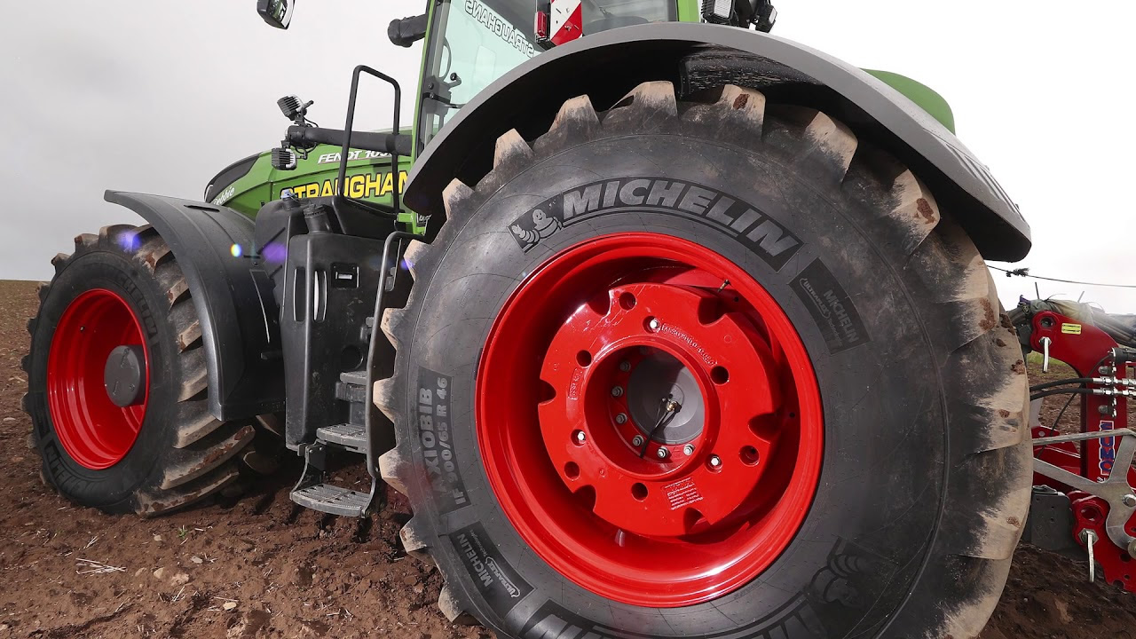 Michelin showcases agriculture and construction tires at summer farm show